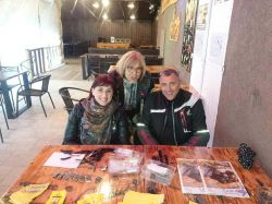 Coco, Carole et Christian du Journal Des Motards