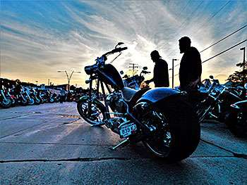 """ALL WAYS ON WHEELS"" présent au « black hills rally » de Sturgis en août 2019"