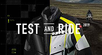 Test and ride. L'aventure a moto - acte 2