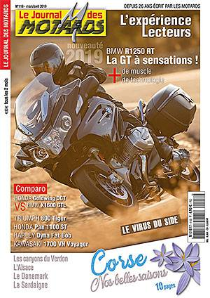 Le Journal Des Motards mars avril 2019 couverture 300